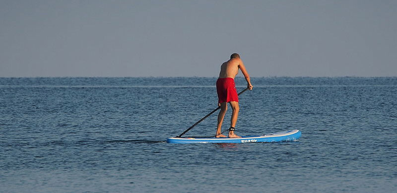 5 Health Benefits of Stand Up Paddle Boarding