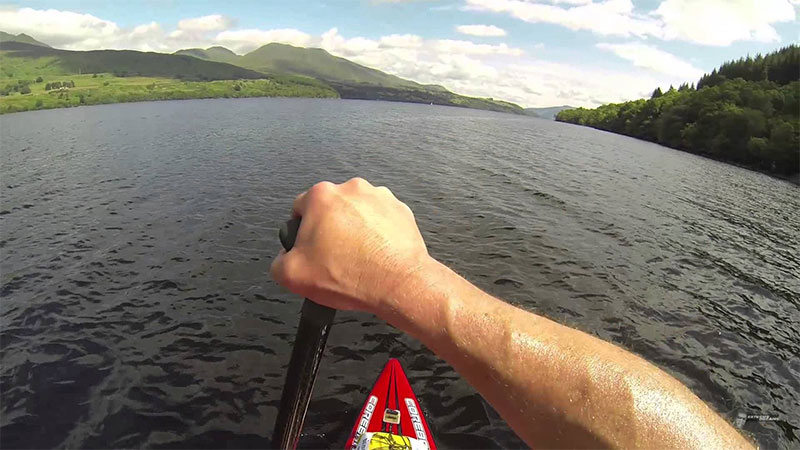 SUP in scotland