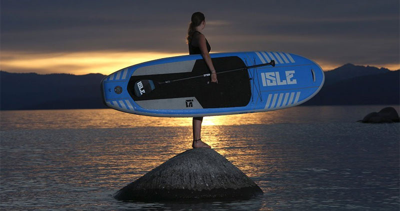 ISLE Airtech 10′ All Around Inflatable Stand Up Paddle Board Review (2016  model) 7f478af69b33