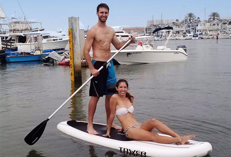 "Tower Paddle Boards Adventurer Inflatable 9'10"" SUP Package Review"