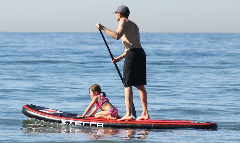 Xterra Paddle Boards >> Xterra 10 Inflatable Stand Up Paddle Board Package Review Just