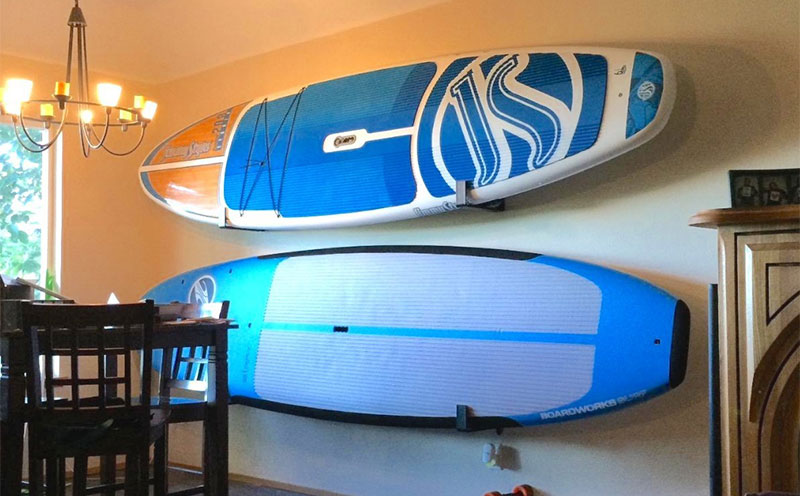 Good Stand Up Paddle Board Storage Ideas For Off Season