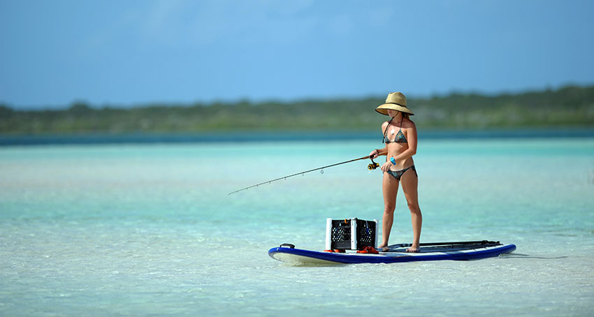 Ocean Anglers: Use The Best Saltwater Fishing Rod When SUP Fishing