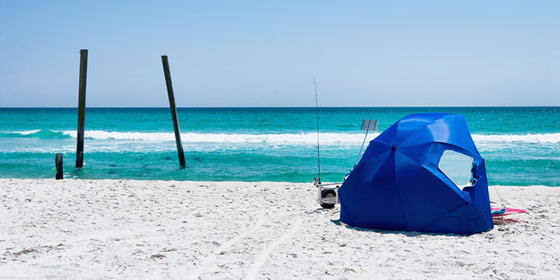 Enjoy Time By The Sea With The Best Beach Tents for Wind, Babies and Families