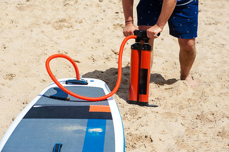 Finding The Best Hand Pump & Electric Pumps for Your Inflatable SUP