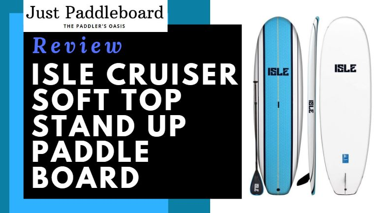 ISLE Cruiser Soft Top Stand Up Paddle Board features a EPS core with a TRIPLE stringer system