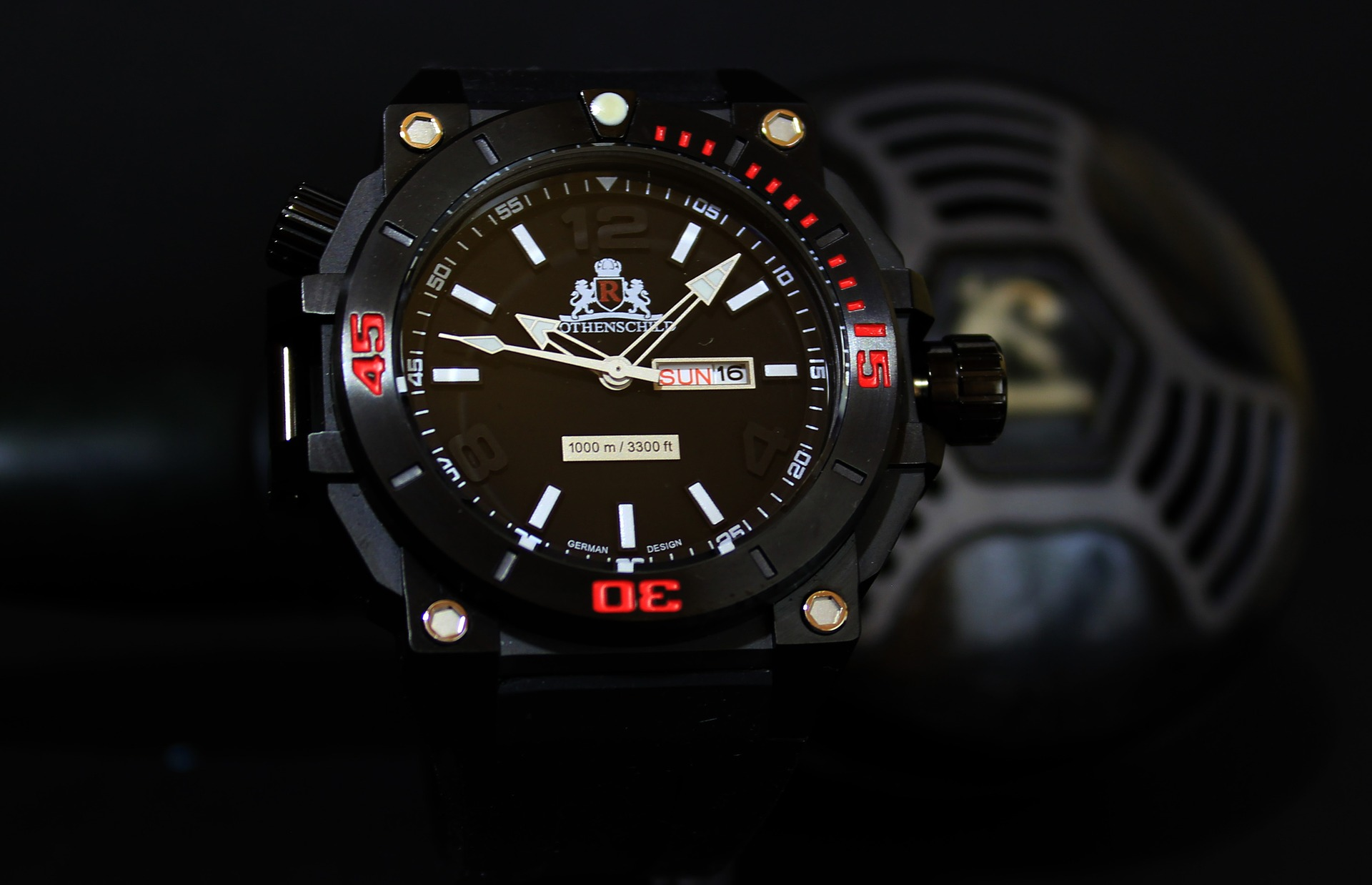 a diving watch