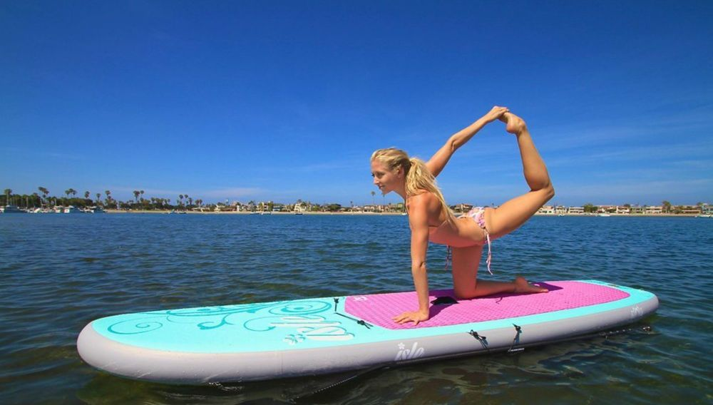 Inflatable Fitness Stand Up Yoga Paddle Board
