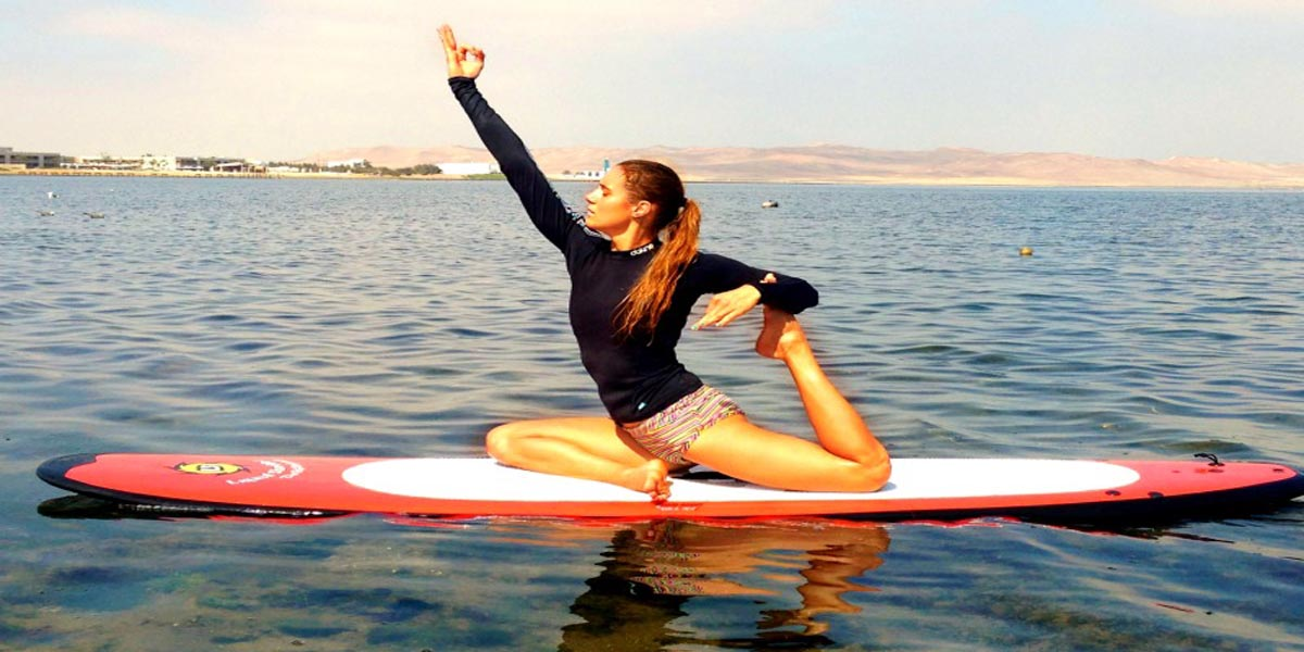 Inflatable Paddle Board  yoga