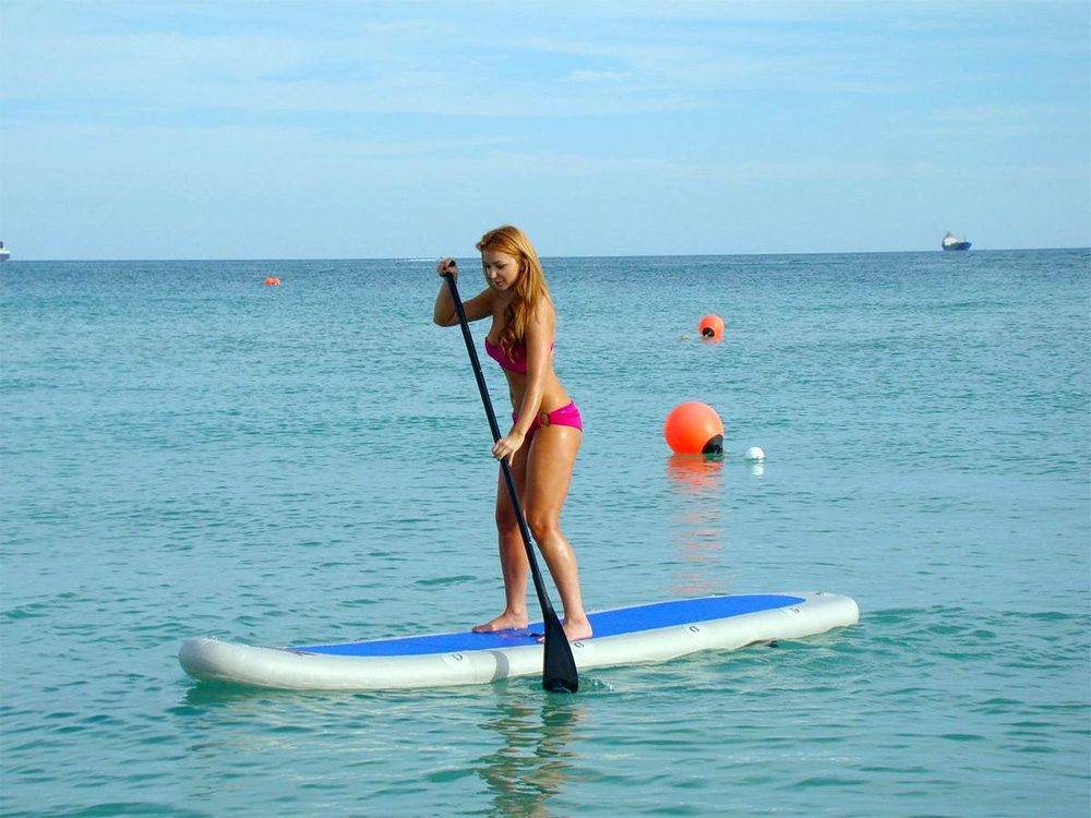SereneLife Inflatable Stand Up Paddle Board Review And Comparison