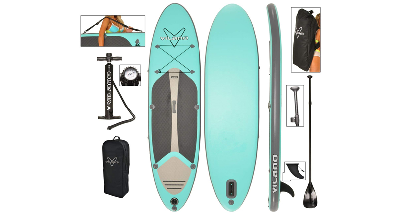 Review: Vilano Journey Inflatable SUP Stand up PaddleBoard 2019