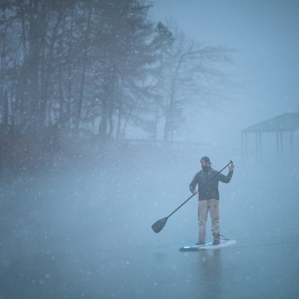 Winter Paddleboard